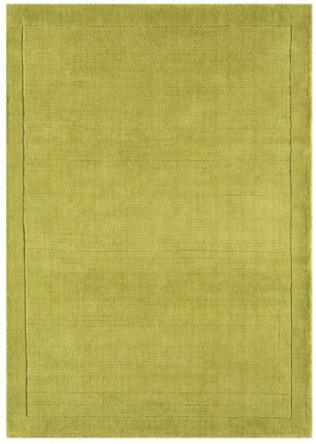 York Green 100% Wool Rug